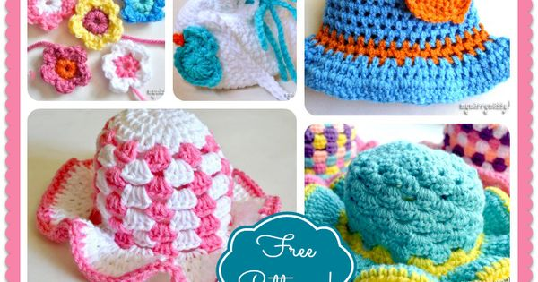 I love free patterns :) These are from My Merry Messy Life: