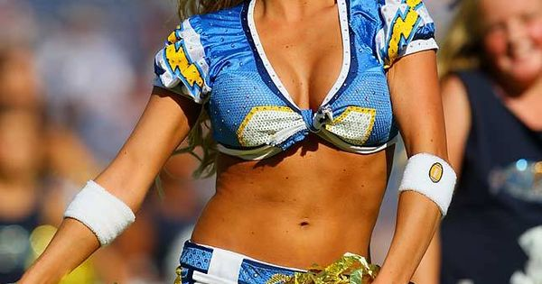 San Diego Chargers Cheerleaders Cheerleaders Pinterest
