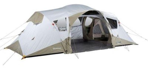 tente camping tente 4 places 2 chambres seconds 4 2xl illumin fresh quechua tentes