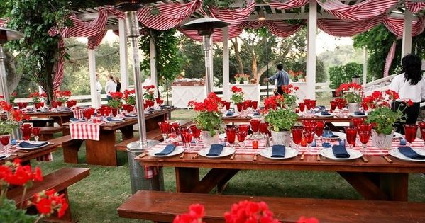 memorial day bbq decorating ideas