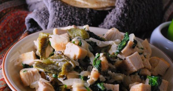 Creamy chicken, Rick bayless and Onions on Pinterest