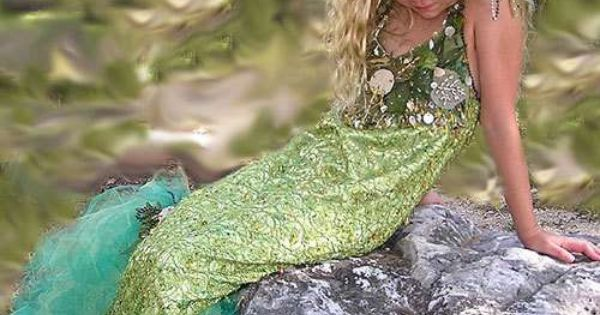picture of little girl mermaid | Jewel of the Sea Mermaid Costume