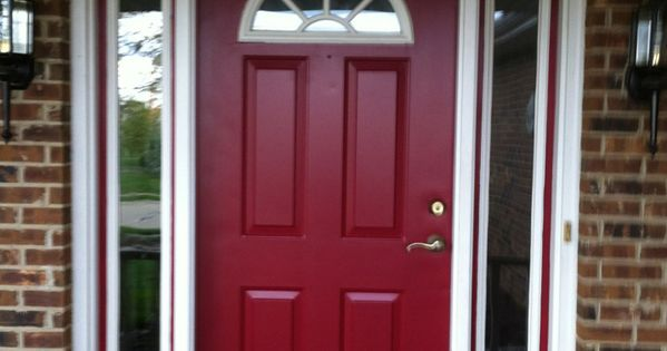 Behr S Spiced Wine Paint For The Front Door I Love This