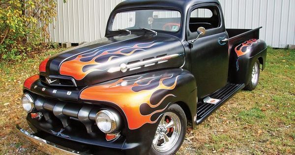 hot rod 1948 1952 ford f 1 to f 6 pinterest crazy. Black Bedroom Furniture Sets. Home Design Ideas
