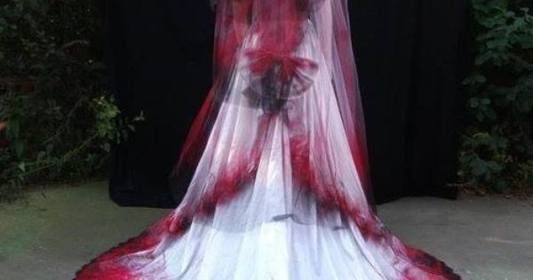 Halloween Wedding Veil