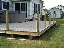 How To Extend An Existing Deck Expand An Old Deck Make A Deck Bigger By Adding More Posts And Joists Diy Deck Building A Deck Deck Building Plans