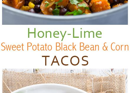 Black Bean and Corn Tacos | Recipe | Black Beans, Tacos and Limes ...