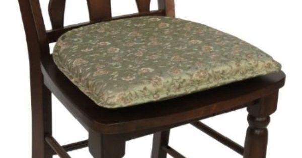 Amazon Com Klear Vu Gripper Essex Thistle Chair Pad Home