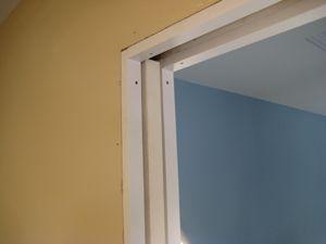 How To Trim Pocket Door Jambs Home Construction Improvement Pocket Doors Diy Sliding Barn Door Door Trims