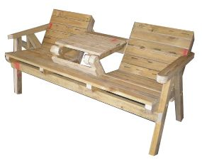 Awesome Garden Seat Table Plans Easy Plans To Build Your Own Garden Dailytribune Chair Design For Home Dailytribuneorg