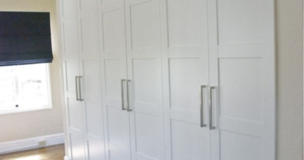 Ikea Pax Wardrobes Used As Built In Closets Jewels At