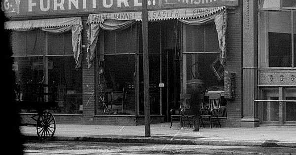 Great Grandfather Sadler 39 S Furniture Store In Early Denver Late 1800 39 S Family History