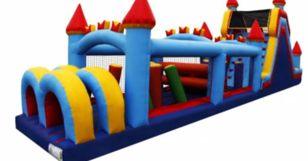Castle Obstacle Course Rental Los Angeles Obstacle Course 800 873