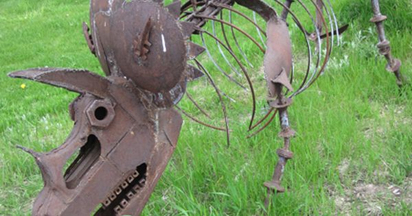 Recycled Art Ridiculously Cool Environmental Recycle