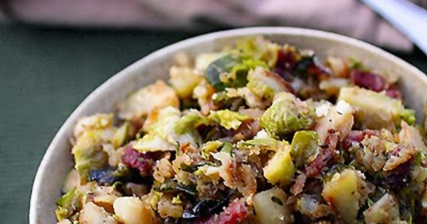 Potato hash, Sprouts and Brussels sprouts on Pinterest