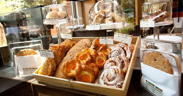 Pastry Display At The CIA Bakery Caf In San Antonio TX