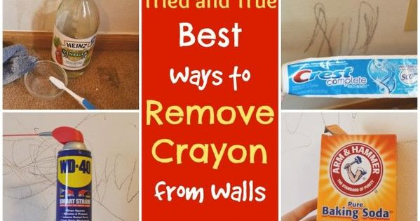 Methods that really work to remove crayon from walls crayons walls and homemaking - Remove crayon walls ...