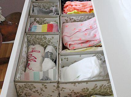 IKEA organizer boxes | Girl Versus Dough