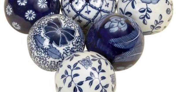 Handmade Glass CabochonsBlue /& White Floral DesignsChoice of Sizes
