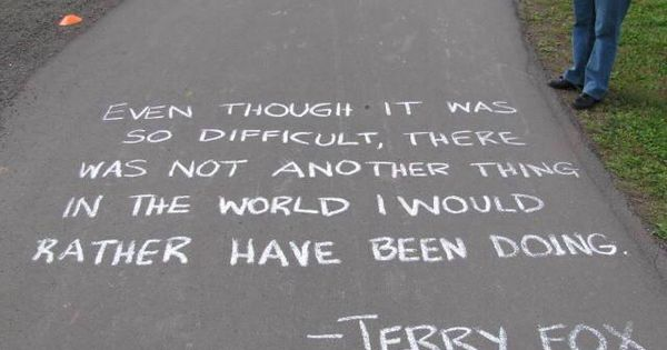 terry fox leadership Thirty years after his marathon of hope we look at the imprint of terry fox in our everyday lives – in our geography, our institutions and our psyche.