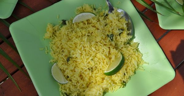 Rice, Cilantro and Coconut on Pinterest