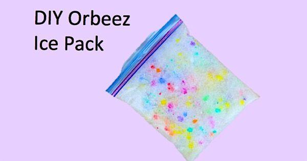 Diy Clear Orbeez Slime Diy Ice Pack Orbeez Slime