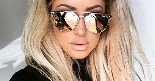 califit 2017 rose rose ronde de cuivre miroir lunettes de soleil femmes uv400 lunettes lunettes. Black Bedroom Furniture Sets. Home Design Ideas