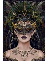 Dark Fairy Vintage Victorian Style Steampunk Hufflepuff Masquerade Pride month Gold Butterfly Mask Fantasy Wedding Veil