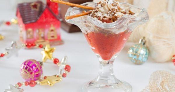 клубника под снегом рецепт десерт