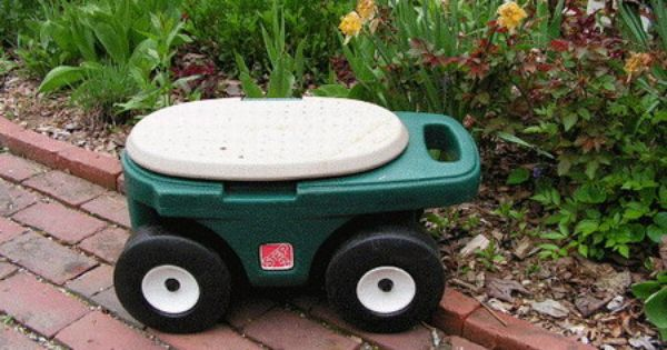 Gardening Seats on Wheels Gardens Gardening and Garden seats