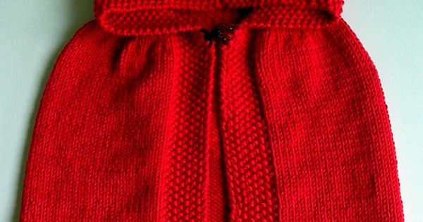 Red Cape Knitting Pattern : Little Red Riding Hood...must have Revelry login to access pattern...its...
