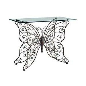 Pier 1 Imports Catalog Furniture Pier1togo Product Details Glass Top Butterfly Console Table Butterfly Table Furniture Metal Furniture