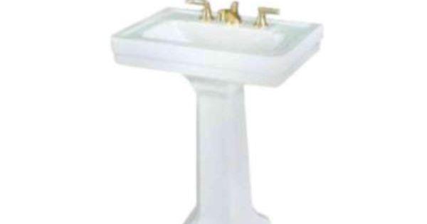 St Thomas Creations Richmond Petite Pedestal Lavatory White