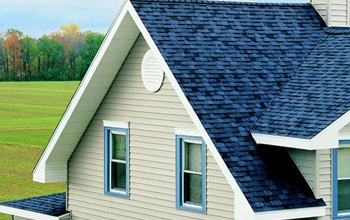 Owens Corning Harbor Blue Shingles Google Search