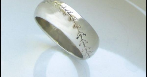 Baseball ring, could be a wedding band....