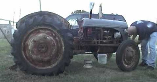 Tractor Split Ford 9n Day 1 Youtube Ford Tractors Tractors Monster Trucks