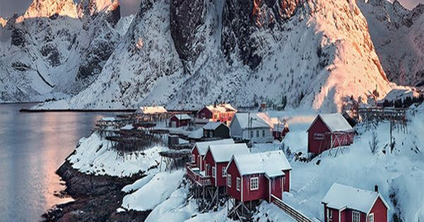 Lofoten, Norway, Normally I'm not a snow kind of person, but for