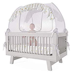 Baby Crib Tent Safety Net Pop Up Canopy Cover Foldable Baby Bed