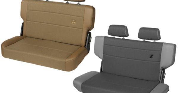 Bestop Jeep Wrangler Trailmax Ii Fold Tumble Vinyl Cloth Rear
