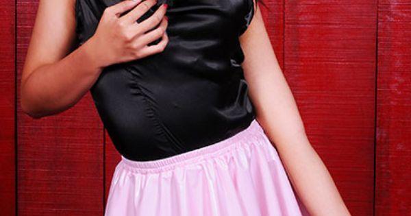 Micro skirt dress