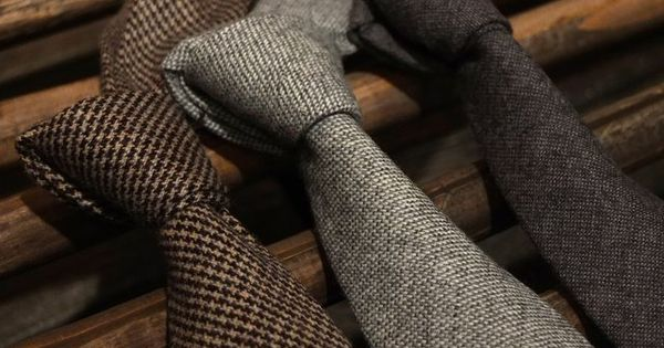 Wool Ties by Onassis: perfect for cold winter style | See more about Wool, Ties and Winter Style.