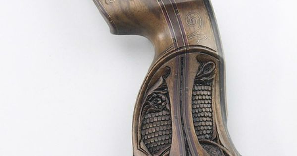 hand carved recurve bow engraved