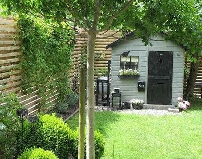 Petit jardin 6 am nagements au top rep r s sur pinterest jardins beautiful et un arbre - Arbre ombrage petit jardin argenteuil ...