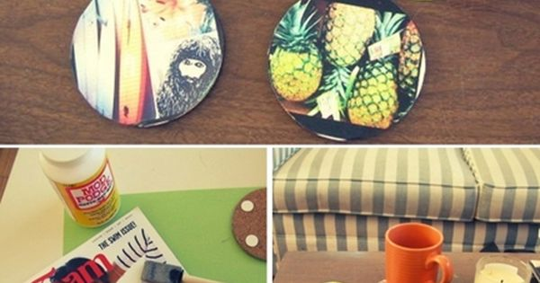 DIY Coasters | 39 DIY Christmas Gifts You'd Actually Want To Receive