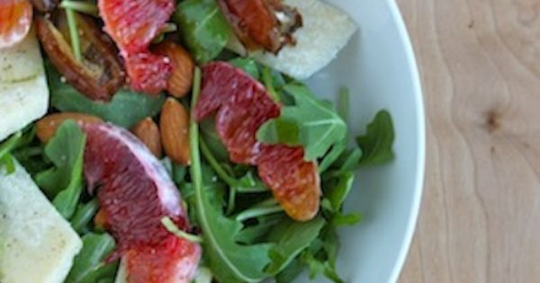 blood orange, date, parmesan, and almond salad | to eat | Pinterest ...