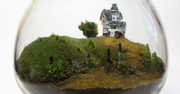 You can keep the weird little house on the hill in your