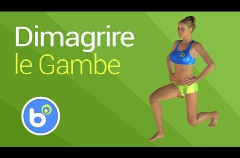 Esercizi per dimagrire le gambe allenamento per snellire for Dimagrire interno coscia benessere 360