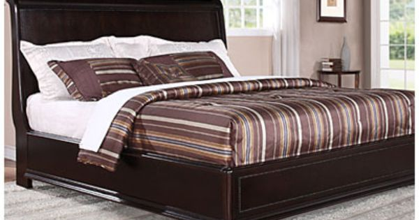 Trent Complete King Bed At Big Lots Big Lots Furniture King Beds Home