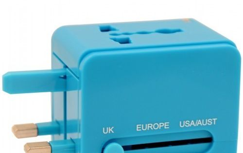 Universal Travel Adapter by Flight 001. This compact travel adapter will ensure