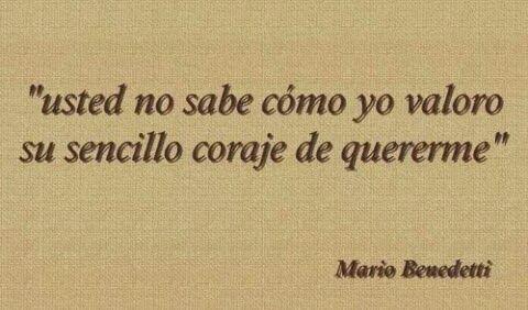 Frases De Mario Benedetti Poemas Cortos De Amor Poemas